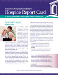 Hospice Report Card